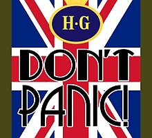 Don't Panic - Home Guard by SquareDog