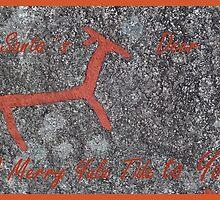 Santa´s Deer for Christmas by HELUA