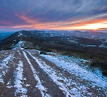 Malvern Hills: Winter in the Shire by Angie Latham