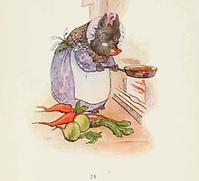 Cecily Parsley's Nursery Rhymes Beatrix Potter 1922 0026 This Pig Had a Bit of Meat by wetdryvac