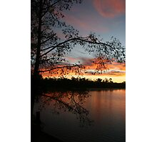 Lake Faussey Point Sunrise Photographic Print