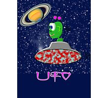 UFO scarf, etc. design Photographic Print