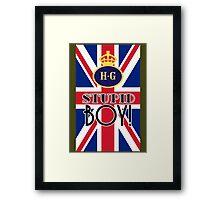 Stupid Boy - Home Guard Framed Print