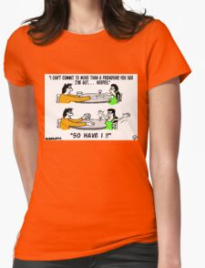 S.T.D's A Go. Womens Fitted T-Shirt