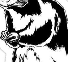 Get Bent Rat Skull Ink Sticker