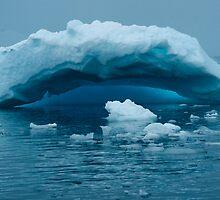 Ice arch by Rosie Appleton