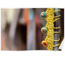 Graffiti Knitting Poster