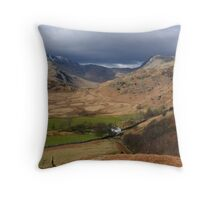 One bare dwelling; one abode, no more! Throw Pillow