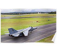 F111-C FLTLT Leon Izatt Poster