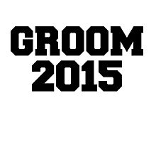 GROOM 2015 wedding Photographic Print