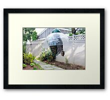 So Much for Squirrel Proof Framed Print