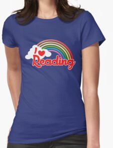 I love reading Womens Fitted T-Shirt