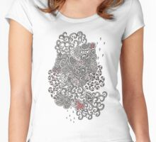 Blood&Chrome Women's Fitted Scoop T-Shirt
