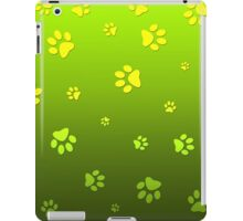 Puppy Paws Green iPad Case/Skin