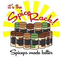 The Spice Rack! Photographic Print