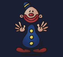 Cheerful circus clown Kids Clothes