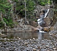Smalls Falls in Rangeley, ME by Jason Gendron