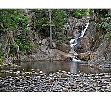 Smalls Falls in Rangeley, ME Photographic Print