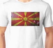 Macedonia Grunge Unisex T-Shirt