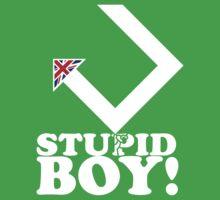 Stupid Boy - Arrow One Piece - Short Sleeve