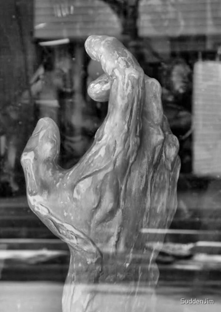 Sculpted Hand by SuddenJim