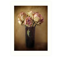 Withered Beauty Art Print