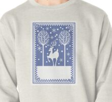 Stag in the forest Pullover