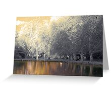 last light on the lake Greeting Card