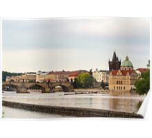 Vltava River - Prague, Czech Republic Poster