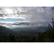 Great Smoky Mountain Sunrise Photographic Print