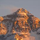 Sunset on Mount Everest (Tibet, China) by SkiCC