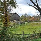 A Typically Rural and Bucolic Rhode Island Farm - Autumn by Jack McCabe