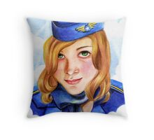 ElevenEleven: Pack up! lets fly away... Throw Pillow