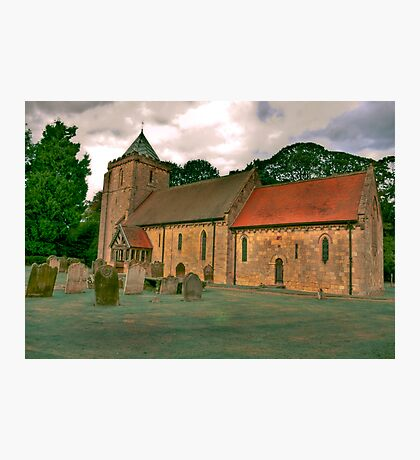 St John of Beverley Church - Salton Photographic Print