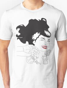 Modern Pin Up Unisex T-Shirt