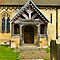 The Entrance Door St John&#x27;s Church. by Trevor Kersley