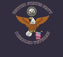 US NAVY DISABLED VETERAN EAGLE SHIELD Unisex T-Shirt