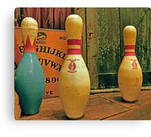 Ouija Bowling Canvas Print