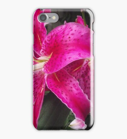 Pink Lilies  iPhone Case/Skin