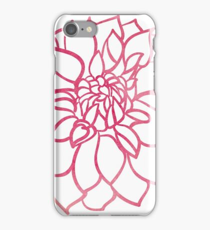 Dahlias  iPhone Case/Skin