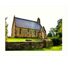 Church of The Holy Epiphany - Butterwick. Art Print