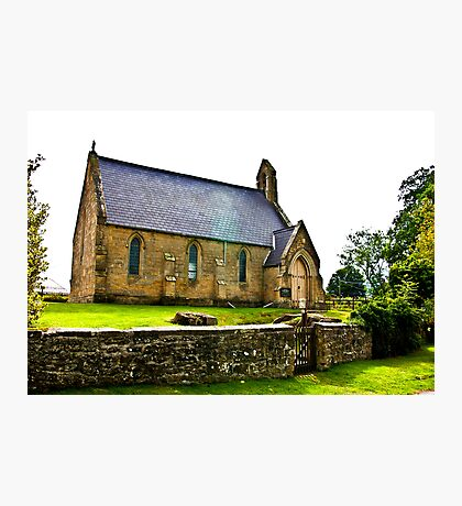 Church of The Holy Epiphany - Butterwick. Photographic Print