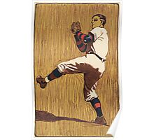 Vintage Baseball illustration Poster
