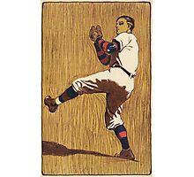 Vintage Baseball illustration Photographic Print