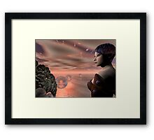 A Brave New World Framed Print