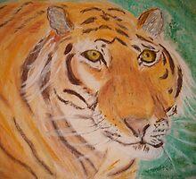 Bengal Tiger by GEORGE SANDERSON