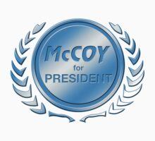 McCoy for President by ImagineThatNYC