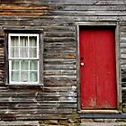 Red Door by Debra Fedchin