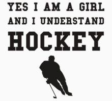 Girl Hockey by AmazingMart