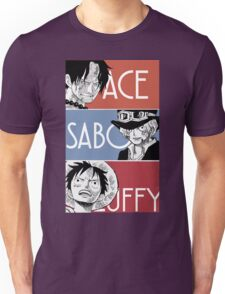 ASL - Ace Sabo Luffy - Brothers  Unisex T-Shirt